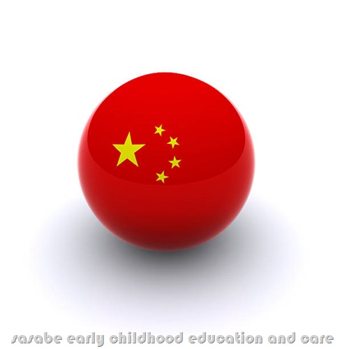 3D Ball - China Flag