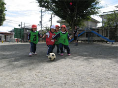 年中サッカー教室