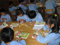 幼稚園祭製作つばめ組