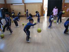 年長サッカー教室ファイナル