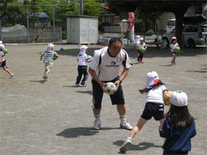 とり組(年長)サッカー教室