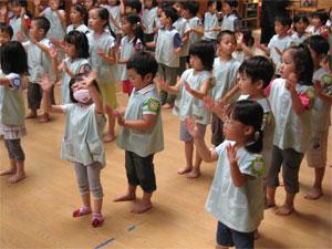 盆踊り練習