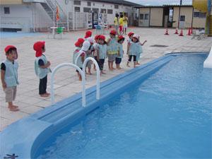 年少プール活動