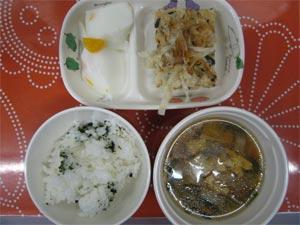 本日の給食