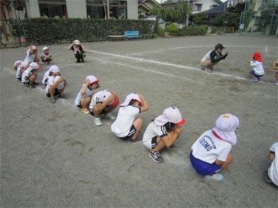 年中運動会練習