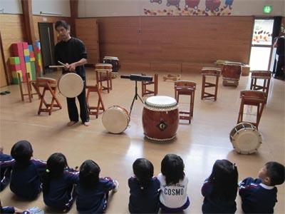 年中太鼓教室