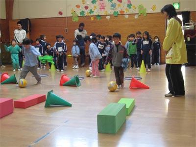 年長サッカー教室